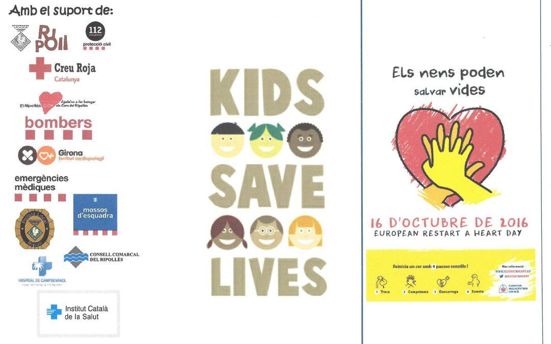 El 16 d'octubre,  dia Europeu de la conscienciació sobre l'aturada cardíaca