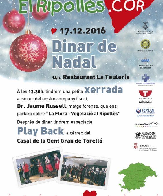 Dinar de nadal 2016     17 de desembre                   BON NADAL i millor 2107