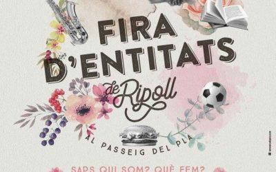 dia 3 juny fira d'entitats a Ripoll, esteu convidats, us hi esperem