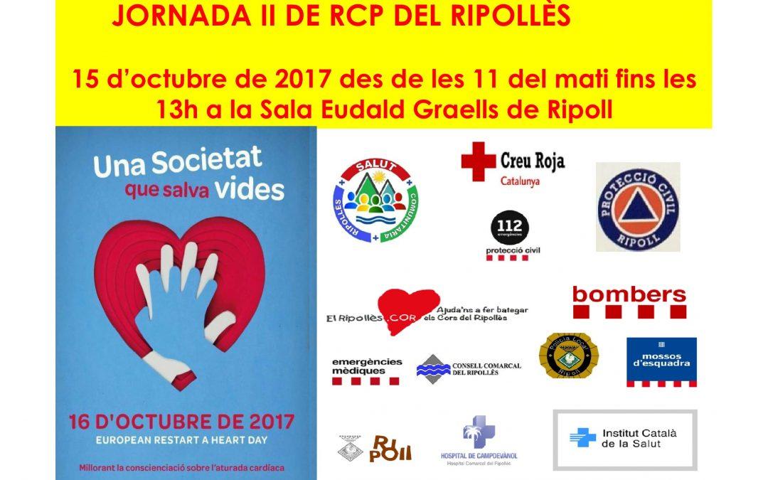 JORNADA II  de RCP DEL RIPOLLÈS  DIA 15 D'OCTUBRE,   us hi esperem gràcies